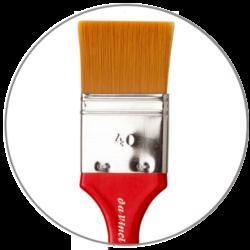 Pennellesse sintentiche Da Vinci Rossa serie 5080