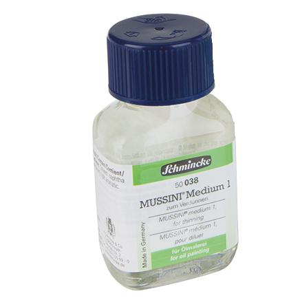 Ditta Poggi - medium ausiliari olio schmincke
