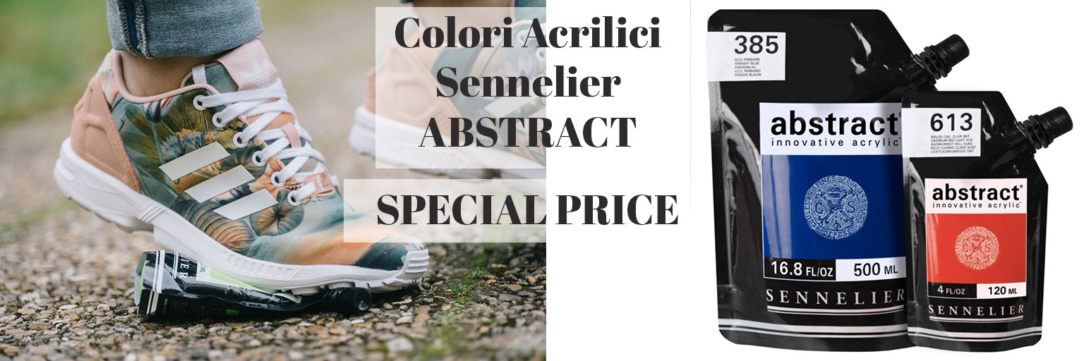 Ditta Poggi - Colori Acrilici Sennelier Abstract