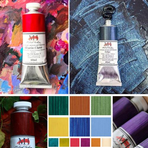 Ditta Poggi – Colori ad Olio Michael Harding