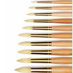 Pennelli Setola Raphael d'Artigny manico lungo tondo serie 358
